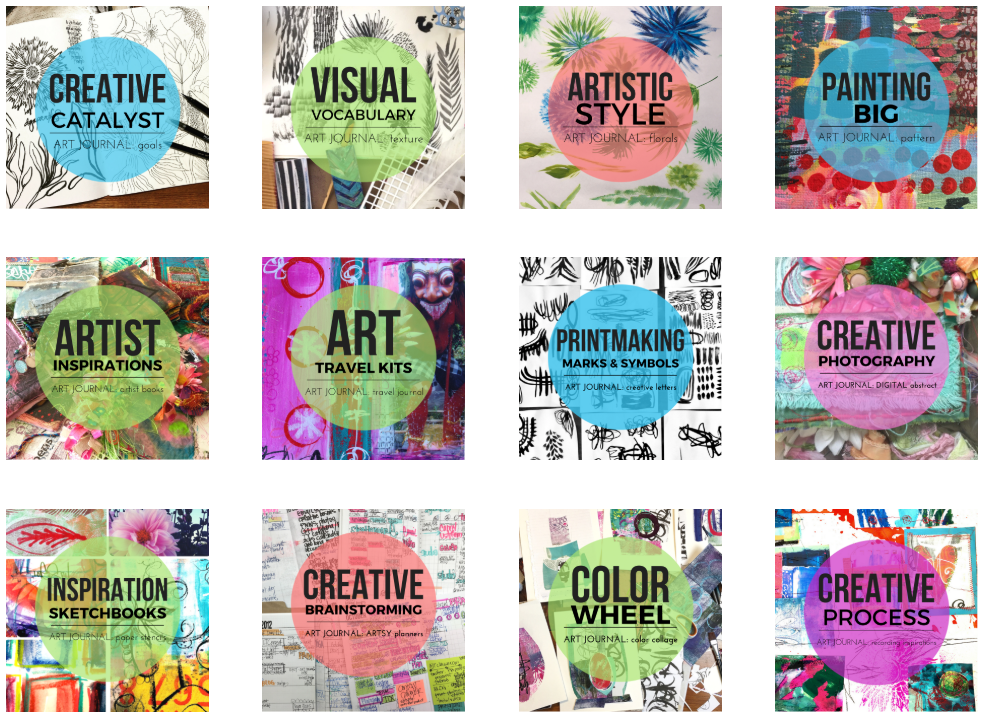 art.journal.PLAY CREATOR collective + MIXED MEDIA LAB BUNDLE