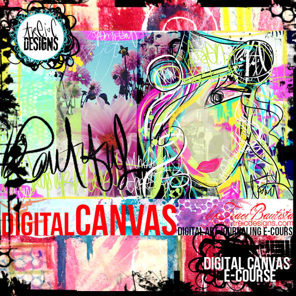 digitalCANVAS {digital art journaling} e-course