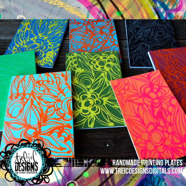 FLORAL printing plates