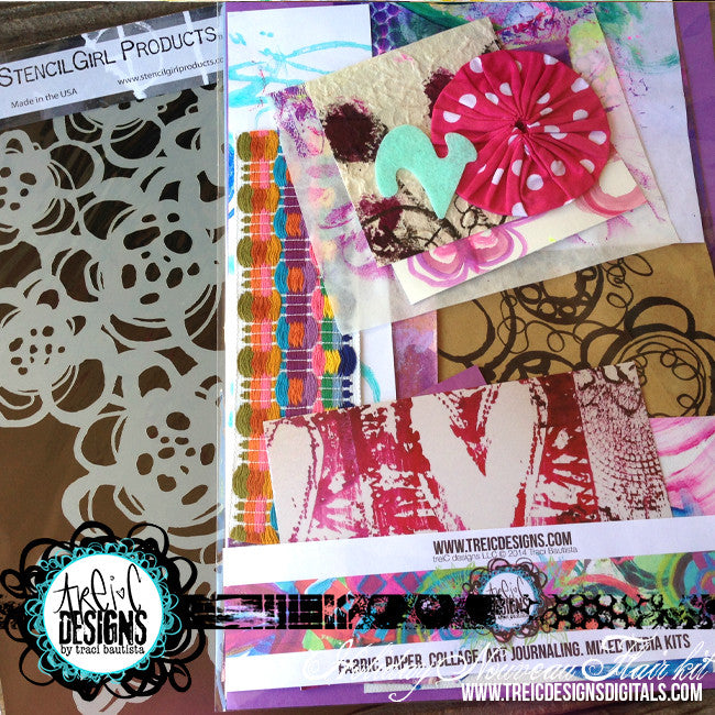 HOLIDAY nouveau FLAIR kit + stencil