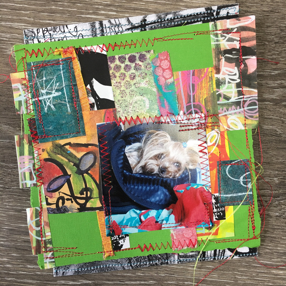COLOR PLAY collage grab bag