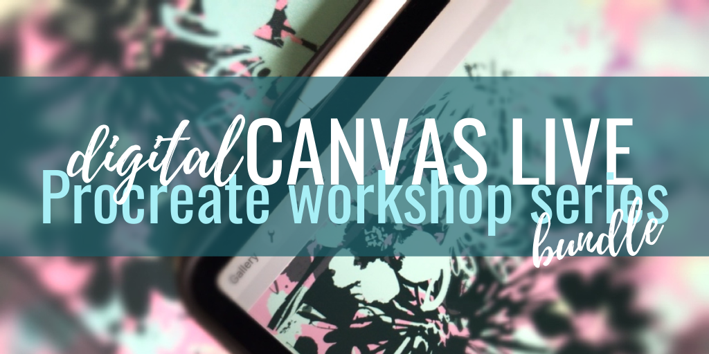 digitalCANVAS LIVE workshop BUNDLE