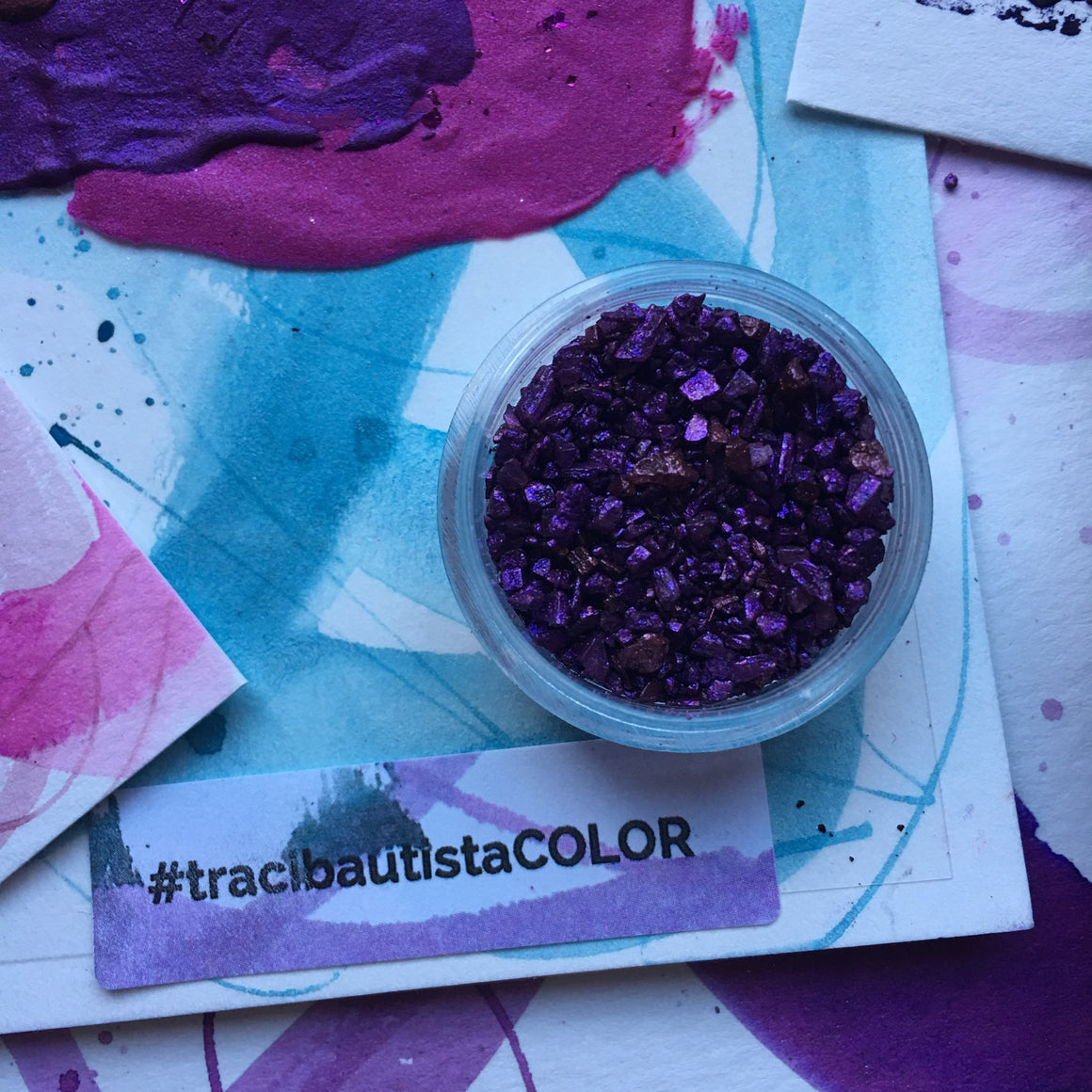 #tracibautistaCOLOR ~ SWEETHEART artisanal watercolor collection no. 1