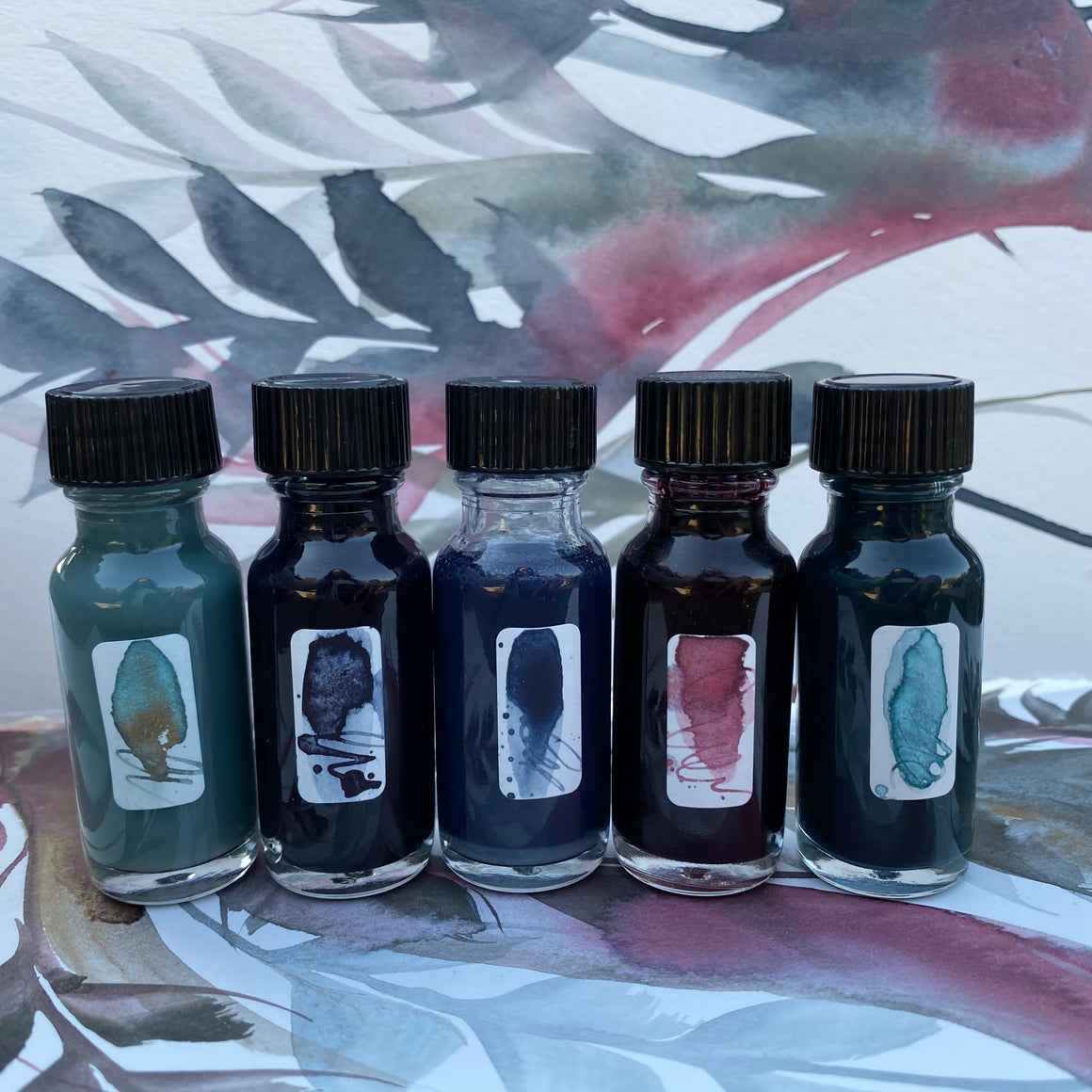 #tracibautistaCOLOR ~ SUNRISE STUDIO artisan ink 5-set {15ml}