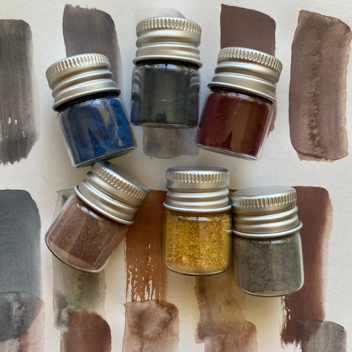 SHADES of LOVE hand-mixed #tracibautistaCOLOR pigment kit + paint making workshop