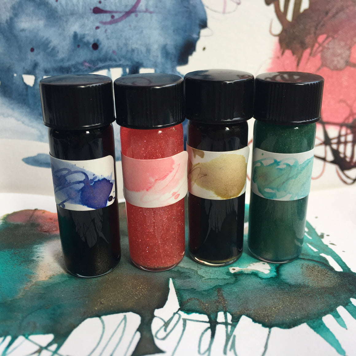 #tracibautistaCOLOR ~ ENCHANTED bohemian ink travel size {5ml}
