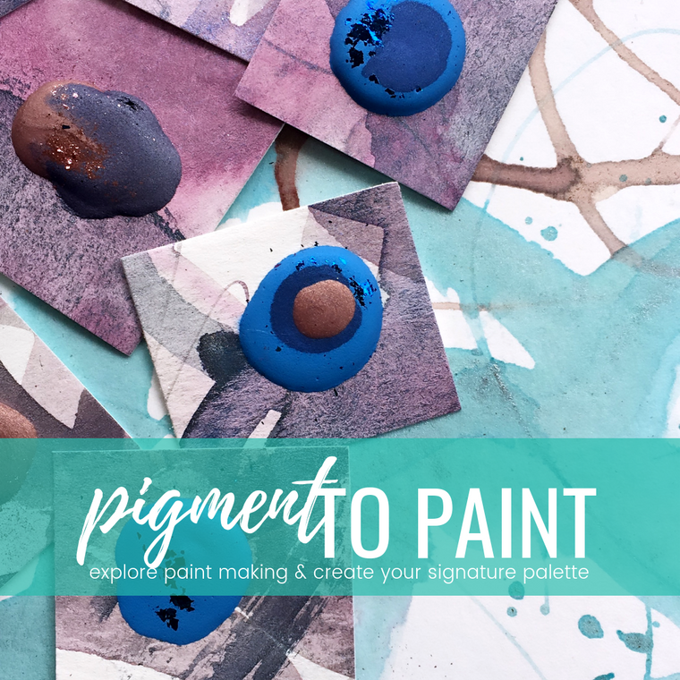 PIGMENT TO PAINT: creative business mentorship