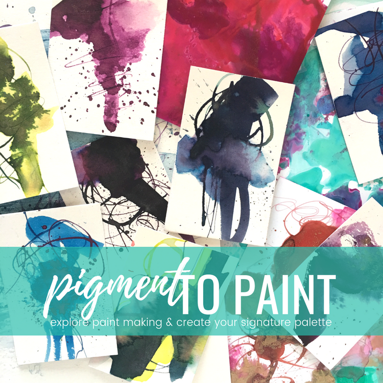 PIGMENT TO PAINT virtual retreat + online program