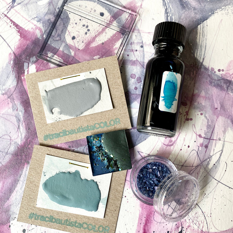 #tracibautistaCOLOR ~ SUMMER 2020 artisanal watercolor collection + workshop