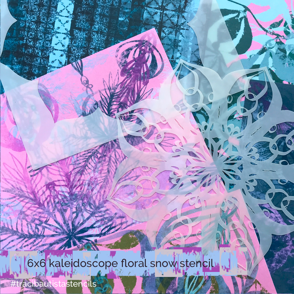 KALEIDOSCOPE floral snow collection bundle {DEC 2019}
