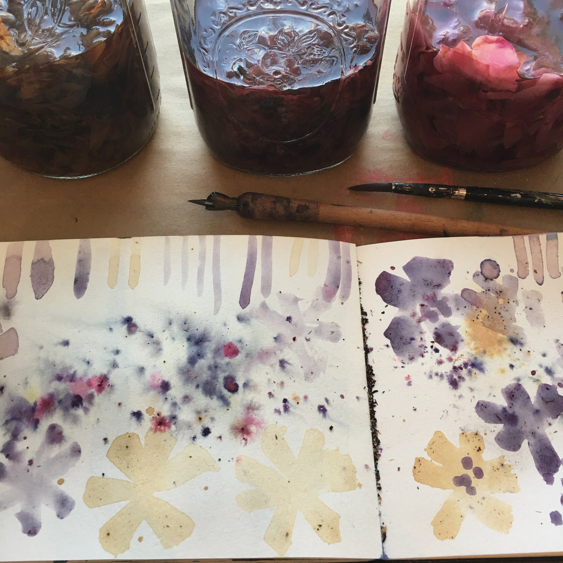 BOTANICAL wild inks {LIVE virtual workshop}