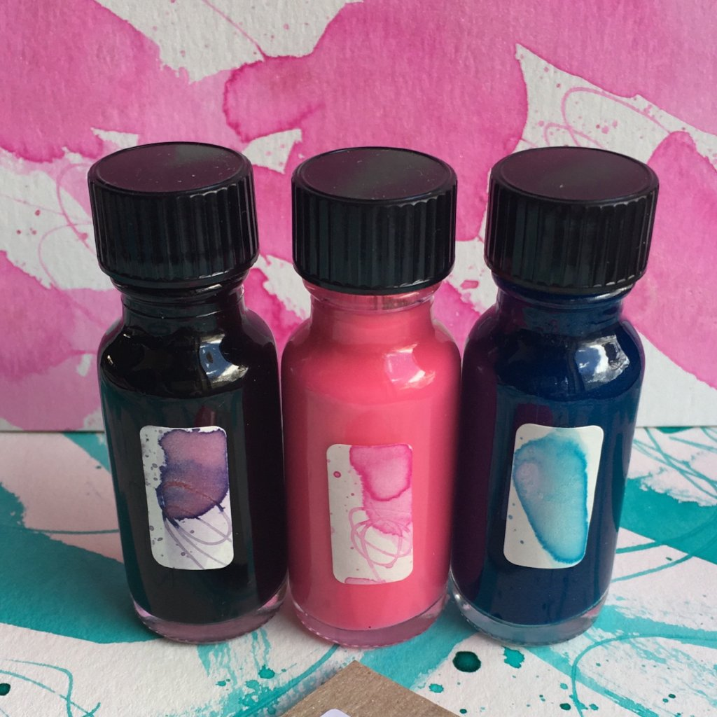 #tracibautistaCOLOR ~ MISC MIX artisan ink 3 set {15ml}
