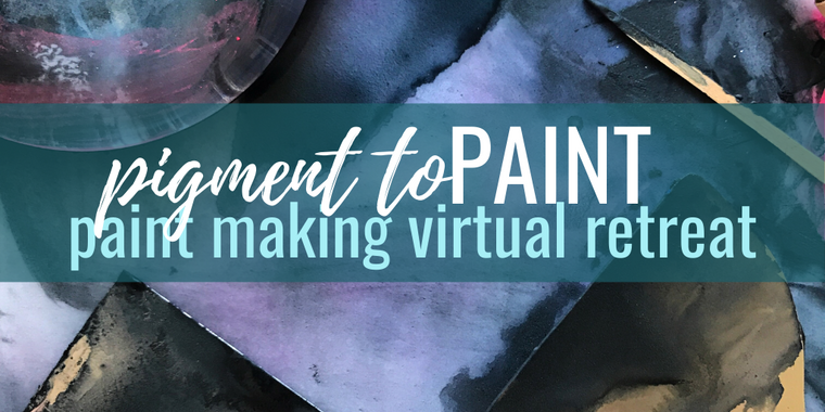 PIGMENT TO PAINT {PLAY} virtual retreat ONLY {JAN 2021}