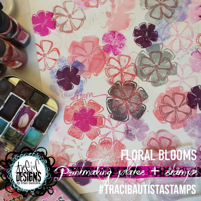 FLORAL + prints stamp grab bag