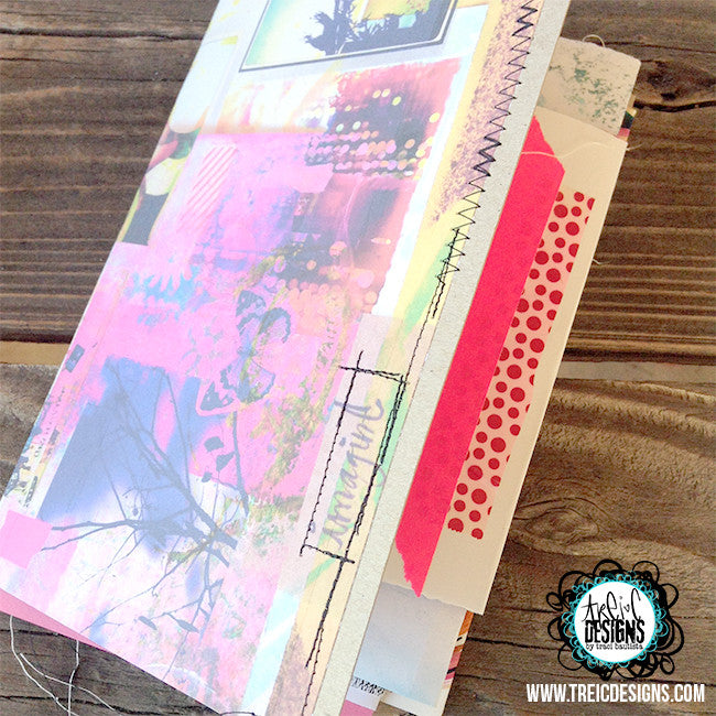 imagine butterfly handmade art journal