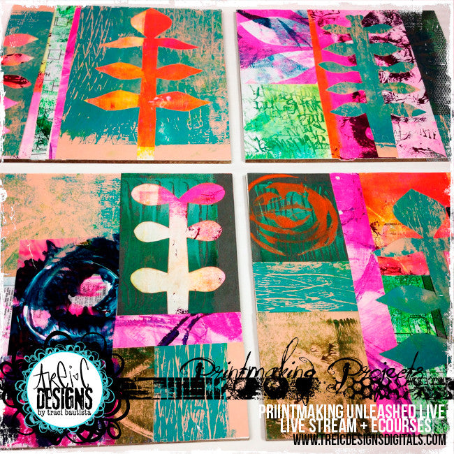 Printmaking Unleashed LIVE online program {bundle}