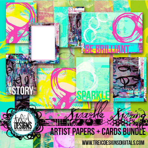 SPARKLE SPRING kits bundle
