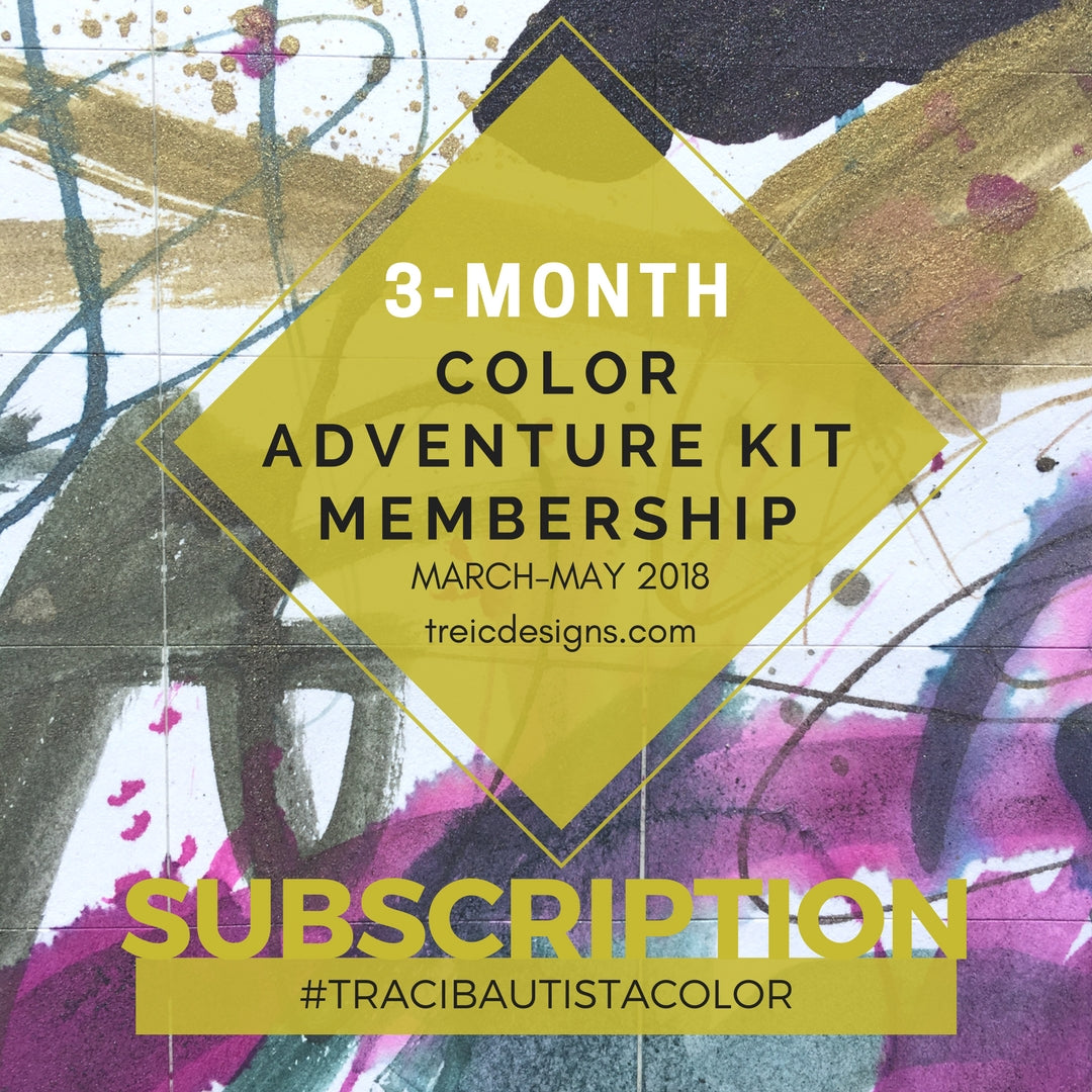 3-month #tracibautistaCOLOR adventure kit subscription - sold out