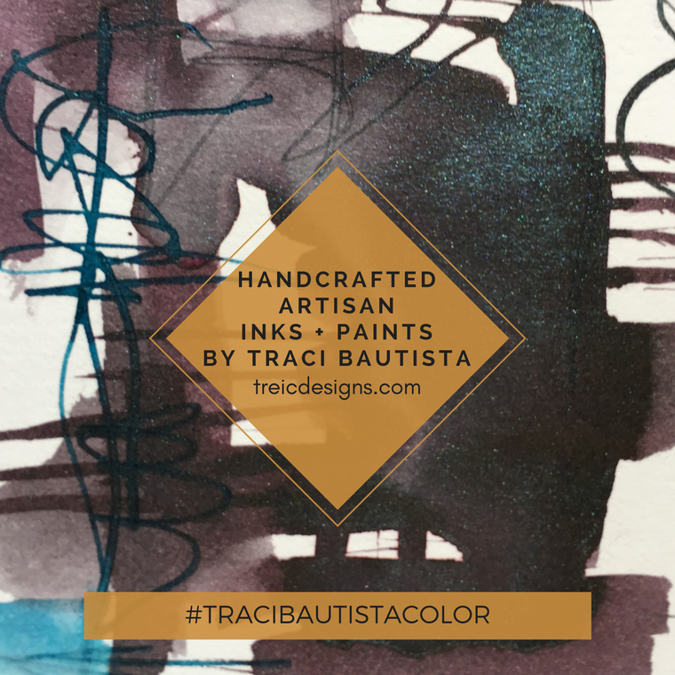 #tracibautistaCOLOR ~ BEAUTIFUL decay artisan ink + watercolor collection no. 2