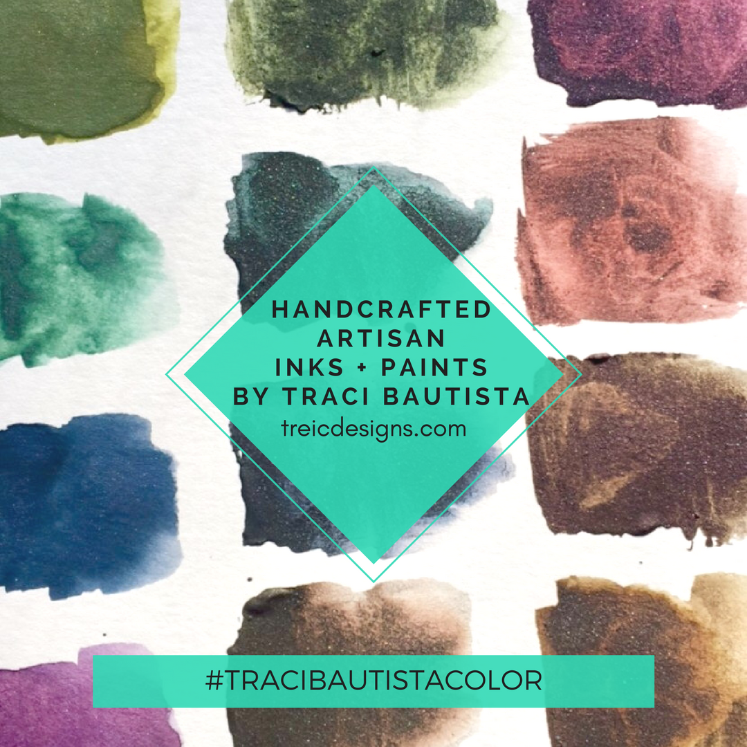 #tracibautistaCOLOR ~ SWEETHEART artisanal handcrafted watercolor half pan