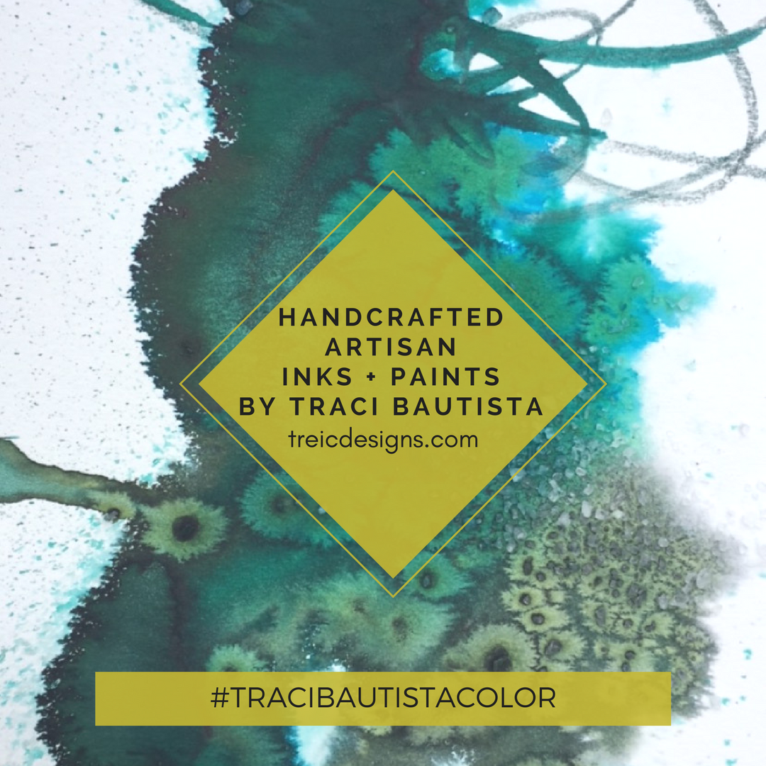 #tracibautistaCOLOR ~ HOLIDAY NOUVEAU artisanal handcrafted watercolor sets