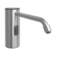 ASI-0335-S - Auto Soap Dispenser - Foam - Battery/AC - Satin Stainless Steel - 50.7 oz. - Vanity Mounted