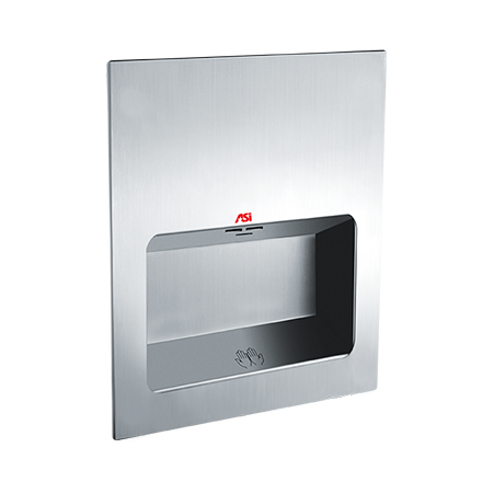 ASI-0135-1 - TURBO-Tuff ™  - Automatic High Speed Hand Dryer - (110-120V)  - Satin Stainless | Choice Builder Solutions