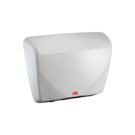 ASI 0195 - Roval™ - Automatic Hand Dryer - Cast Iron - (100-240V) - White - Surface Mounted | Choice Builder Solutions