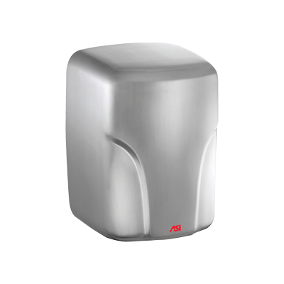 ASI 0197-2-93 - TURBO-Dri™ - Automatic High Speed Hand Dryer - (220-240V) - 93 Satin Stainless Steel - Surface Mount | Choice Builder Solutions