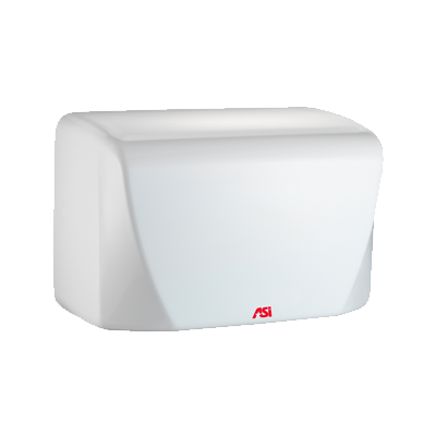 ASI 0198-2 - TURBO-Dri™ Jr. - Automatic High Speed Hand Dryer - (220-240V) - White - Surface Mount | Choice Builder Solutions