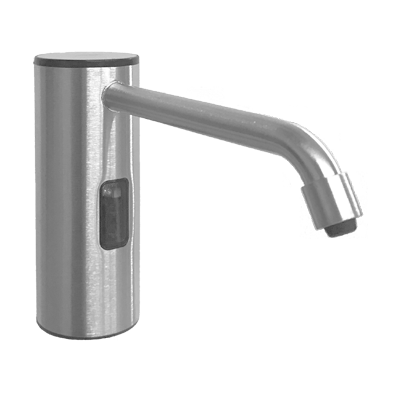 ASI-0335-S - Auto Soap Dispenser - Foam - Battery/AC - Satin Stainless Steel - 50.7 oz. - Vanity Mounted | Choice Builder Solutions
