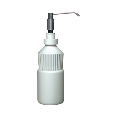 "ASI-0336-D - Manual Soap Dispenser - Foam - 6"" Spout - Stainless Steel - 34 oz. - Vanity Mounted 