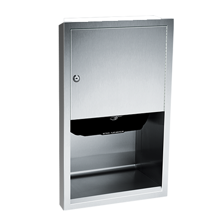 ASI 045210A-6 - Traditional™ - Auto Paper Towel Dispenser - Roll - Battery - Semi-R | Choice Builder Solutions