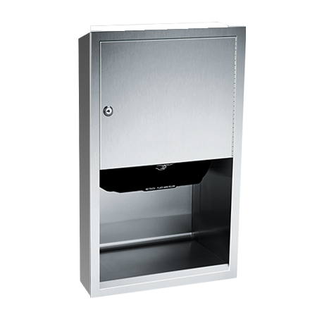ASI 045210A-9 - Traditional™ - Auto Paper Towel Dispenser - Roll - Battery - Surface Mounted | Choice Builder Solutions