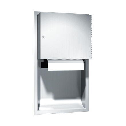 ASI-045224A - Traditional™ - Auto Paper Towel Dispenser - Roll - Battery - Recessed | Choice Builder Solutions