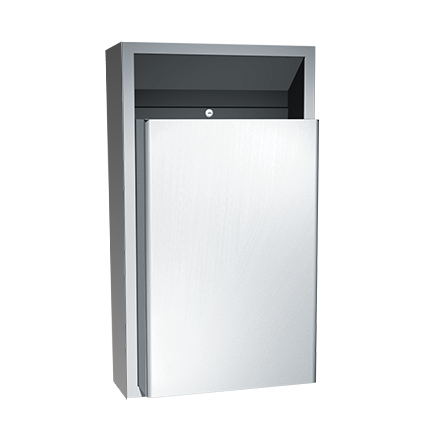 ASI-0458-9 - Traditional™ - Waste Receptacle - 12 gal. - Surface Mounted | Choice Builder Solutions
