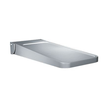 ASI-0698 - Shelf, Utility - Fold Down-type, Stainless Steel - Surface Mounted | Choice Builder Solutions