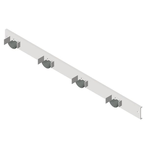 "ASI-0796-4 - Mop Rack - 4 Holders - 36"" - Surface Mounted 