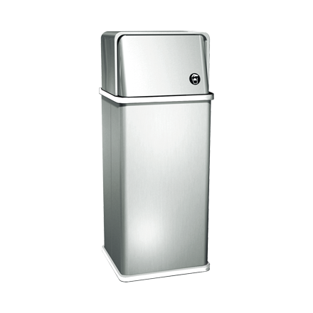 ASI 0810 - Traditional™ - Waste Receptacle - 14.3 gal. - Free Standing | Choice Builder Solutions
