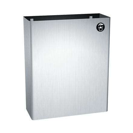 ASI 0828 - Traditional™ - Waste Receptacle - 6.5 gal. - Surface Mounted | Choice Builder Solutions