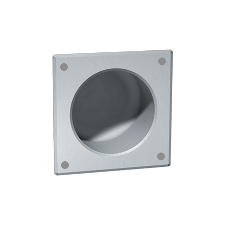 ASI-1ASI-13 - Security Toilet Tissue Holder - Square, Front Mount - Recessed | Choice Builder Solutions