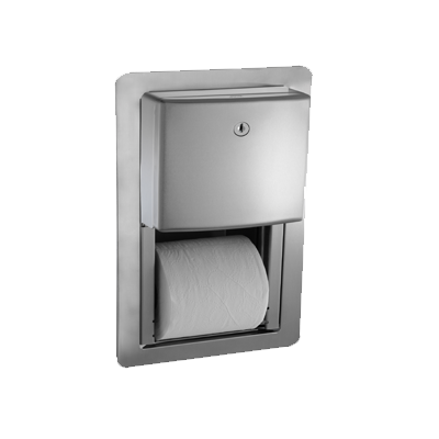 ASI 20031 - Roval™ - Toilet Tissue Dispenser - Twin Hide-A-Roll - Semi-R | Choice Builder Solutions