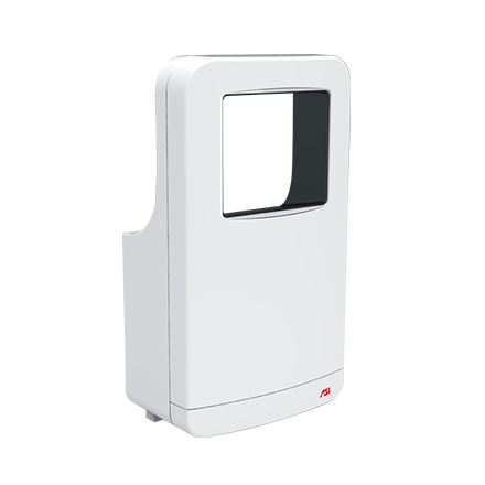 ASI 20201-2 - Roval™ - High Speed Hand Dryer - TRI-Umph™  - (208-240V) - White - Surface Mounted | Choice Builder Solutions