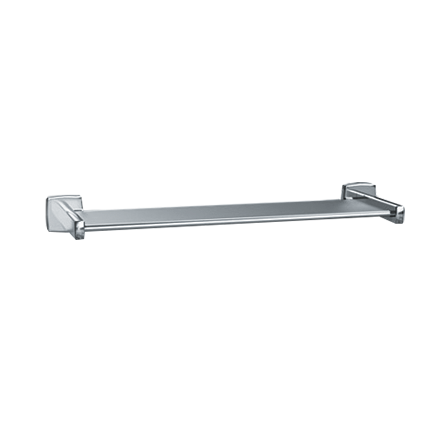 "ASI-7380-24B - Shelf - Bright Stainless Steel - 24""L - Surface Mounted 