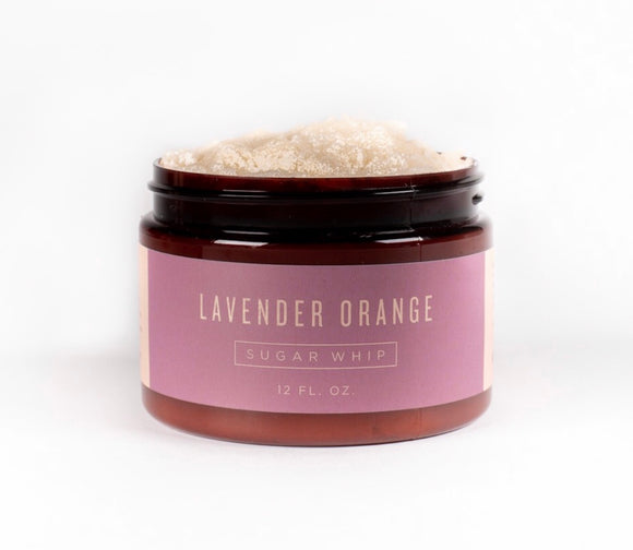 Lavender Orange Sugar Whip Sugar Scrub