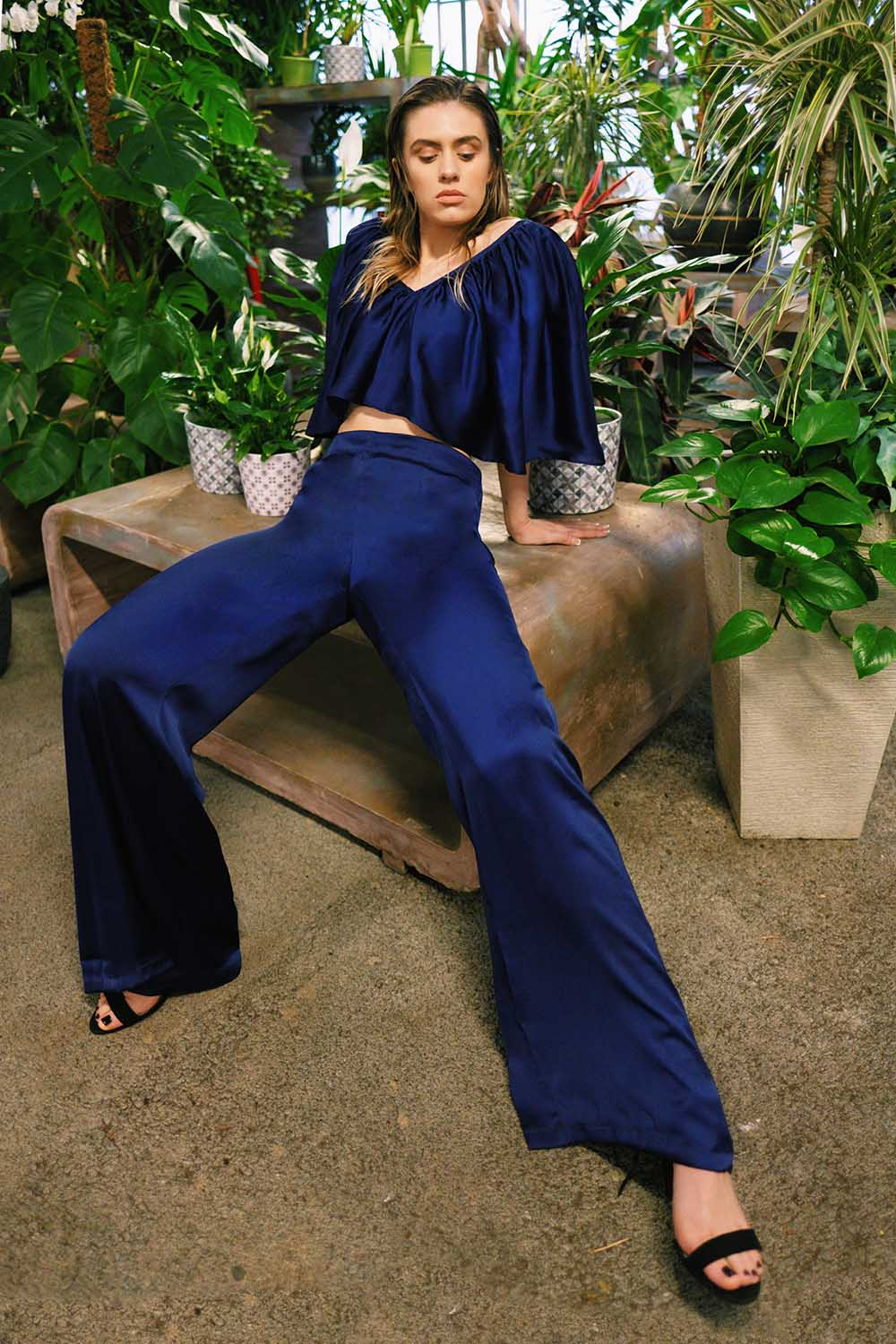 Spring 2019 Collection \ Lilith by Katarina Baban \ Top + Pants