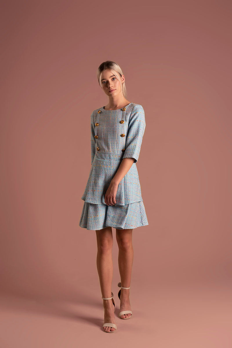 Dress Millie Blue / Lilith by Katarina Baban / Autumn19 Collection
