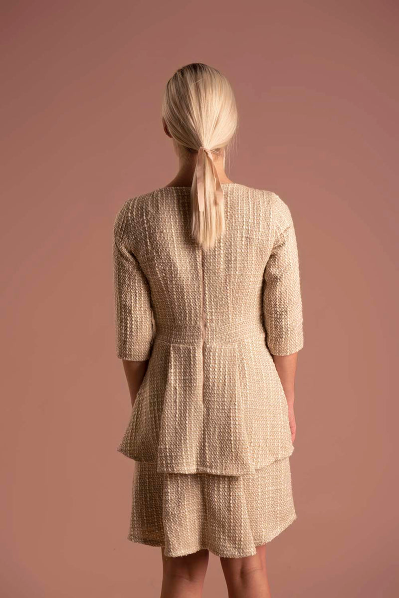 Dress Millie Golden / Lilith by Katarina Baban / Autumn19 Collection