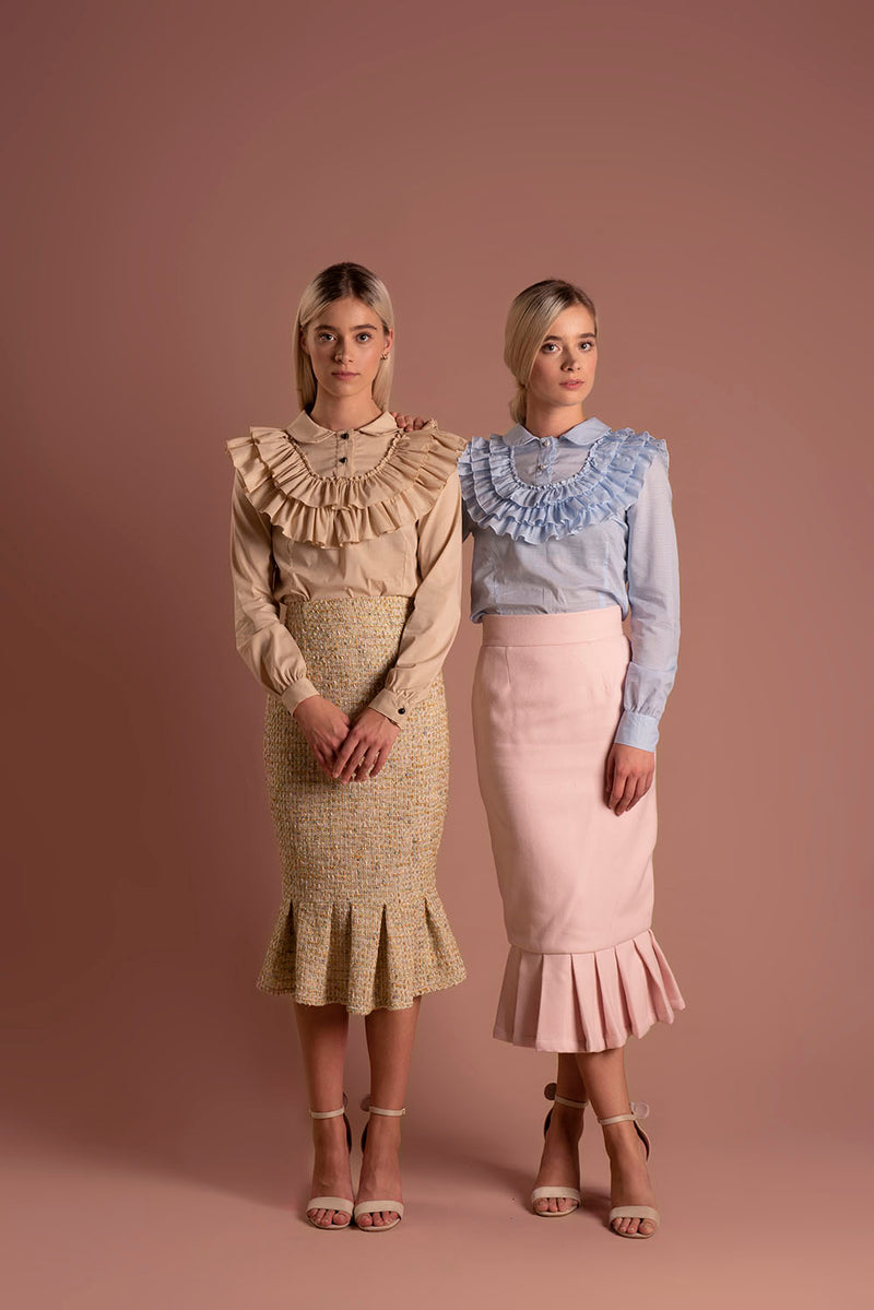 Skirt Candy Pink / Lilith by Katarina Baban / Autumn19 Collection