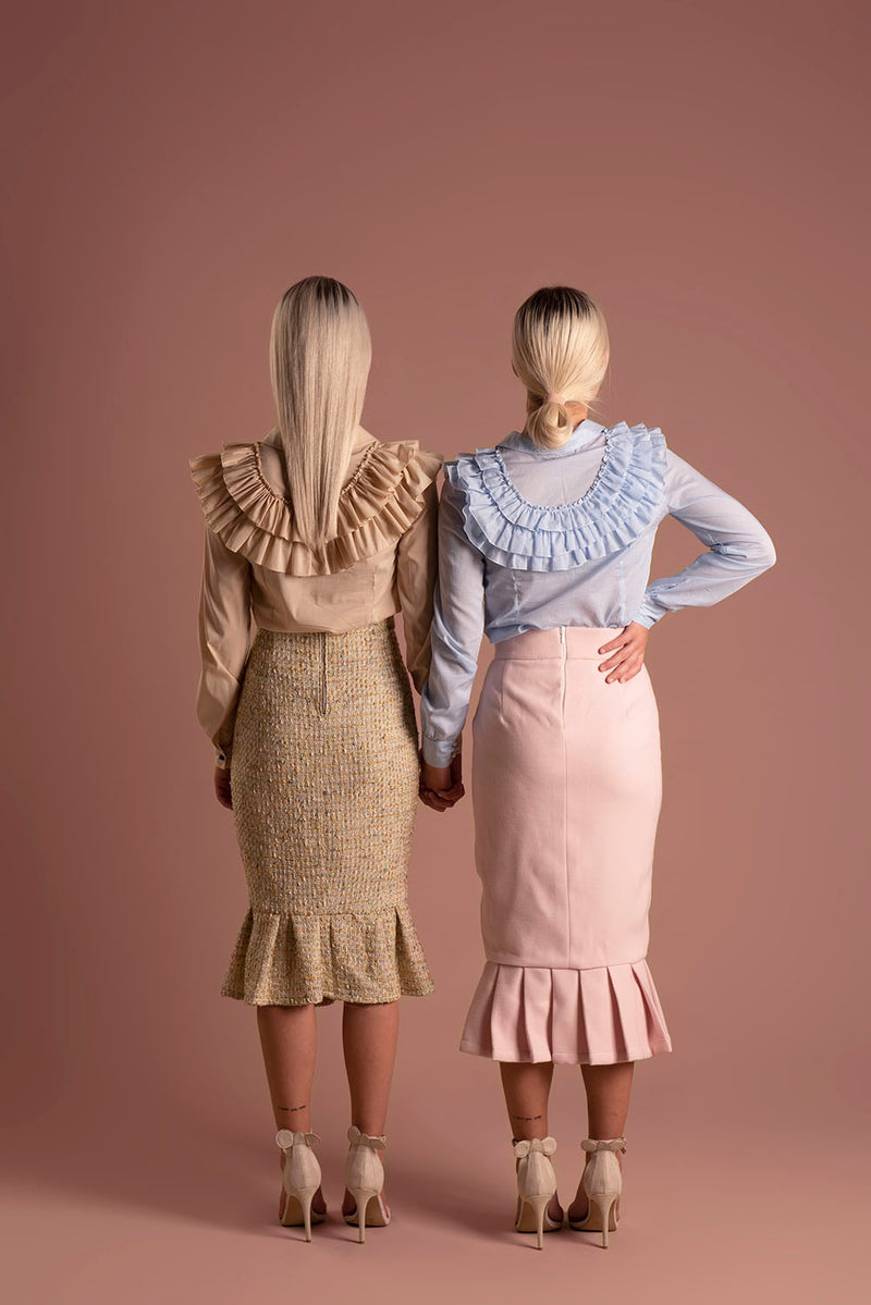Skirt Candy Beige / Lilith by Katarina Baban / Autumn19 Collection